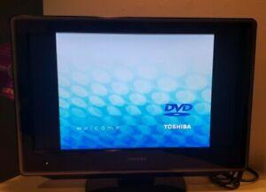 "19"" Toshiba 19LV610U - 720p LCD HD TV/DVD Combo - Fully Operational No Remote"