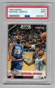 Michael Jordan 1993 Hoops ALL-STAR #257 PSA 9 Mint  6812