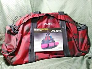 "Fuel Sport Carryall Duffel Red Camo 20.5"" x 13.5"" x 6.75"""