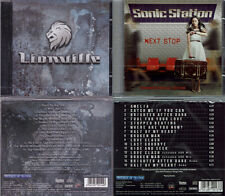 2 CD, Lionville (Debut +3, 2011) + SONIC STAZIONE-NEXT Stop +4, AOR, work of art