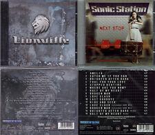 2 CD, lionville (debut +3, 2011) + sonic station-Next stop +4, AOR, work of art