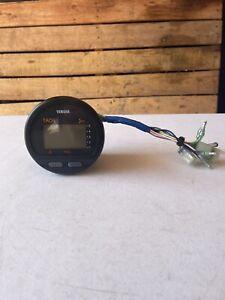 Yamaha Outboard 6Y5-8530T-D0-00 Digital Multifunction Gauge Tach Tachometer