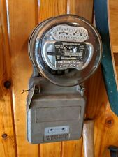 Vintage Westinghouse Type CA 240V Northern States Electric Power Meter Watthour