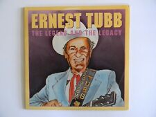 ERNEST TUBB~THE LEGEND AND THE LEGACY~33 1/3 LP - VINYL PHONO RECORD ALBUM -NICE