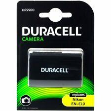 Duracell Akku für Nikon Typ EN-EL9a 7,4V 1100mAh/8Wh Li-Ion Schwarz