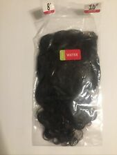 Lace Closure Style Hair Water Wave 8 in  4x4 100% Human Hair -black