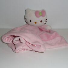 Doudou Chat Hello Kitty Sanrio - Rayé Rose