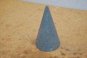 "Cone Grinding Wheel 51/2 Long 3"" Dia Threaded End"