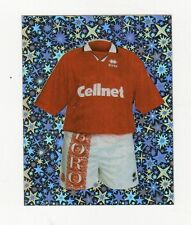 figurina MERLIN'S PREMIER LEAGUE 97 NUMERO 306 MIDDLESBROUGH DIVISA