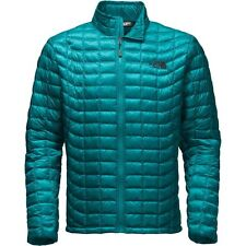 The North Face Men's THERMOBALL Insulated Stowable Jacket Ocean Depths Blue M