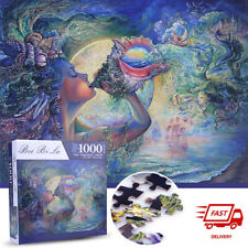 """1000 PIECE JIGSAW PUZZLES """"Fantasy Conch"""" Education Brain KID ADULTS PUZZLE TOY"""