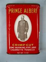 Prince Albert Vintage Pipe & Cigarette Tobacco Tin R J Reynolds Co EMPTY (O)
