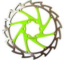 Alligator Windcutter APPLE GREEN Disc Rotor 160mm c95g Cannondale Meridan +bolt