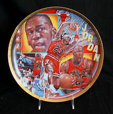 Collector Plate Sports Impressions Michael Jordan Signed Gold Edition