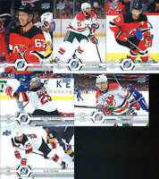 2019-20 Upper Deck Series 1 & 2 New Jersey Devils Veterans Team Set of 13 Cards