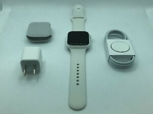 Apple Watch Edition Series 5 White Ceramic 44mm w/ White Sport - Mint Condition!