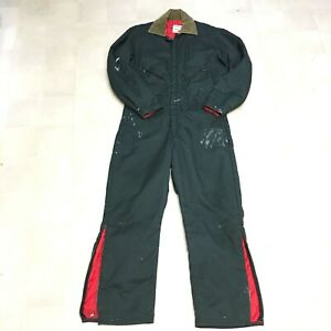 Walls Zero-Zone Work Coveralls Outerwear Men Large Reg 42-44 Cold Winter Weather
