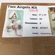 PixelHobby~Two Angels~HobbyWare~Kit 277~NIP~Mosaic Magic Hobby~Herrschners~