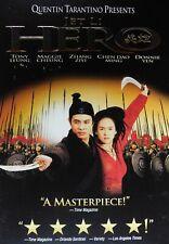 Quentin Tarantino Presents Hero (2002) w/Slipcase Jet Li Donnie Yen Tony Leung