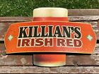 Vintage Killian's Irish Red Beer Sign Metal Bar Tavern Pub Rare style