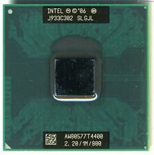 Intel Pentium Dual Core T4400 2.2 GHz mobile CPU 1MB SLGJL processor laptop MINT