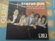 Limited Rare Single CD sleeve STATUS QUO The Price Of Love LITTLE MISS NOTHING