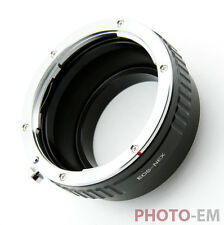 Adapter von Canon EF Objektiv auf Sony E-Mount Alpha A-7II NEX E-Bajonett Z-0588