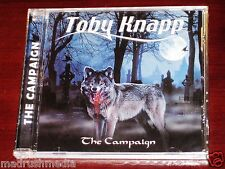 Toby Knapp: The Campaign CD 2010 Shredguy Records SR-7 NEW