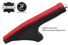 Black & Red Stripe grano superior de cuero delgada Polaina de freno de mano para 350Z Z33 02-09