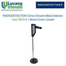 RADIODETECTION CERCA CHIUSINI METAL DETECTOR modello RD312 + Borsa Cover Locator