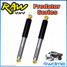 "Mitsubishi Triton ML MN 4WD RAW Rear Predator Gas Shock Absorbers 2"" 0-40mm Lift"