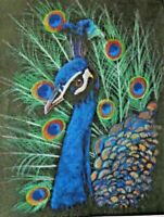 THE PEACOCK - UNIQUE COUNTED CROSS STITCH PATTERN - SHINYSUNS -