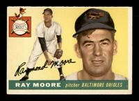 1955 Topps Set Break # 208 Ray Moore VG-EX *OBGcards*