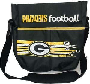 Green Bay Packers NFL Football Shoulder Carry Pack Sling Backpack Bag Picnic EUC