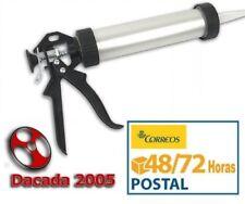 Pistola para Silicona Cerrada en Aluminio de 300 ml envio 48/72