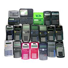 Lot of (19) Texas Instruments & Other Scientific Calculators for Parts/Repair