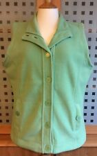 "EWM PURE CLASSICS Green Fleece Gilet / Body Warmer - Large - 18 / 20 - Chest 46"""