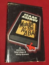 Isaac Asimov Murder At The Aba Hardback Book Club Edition 1976