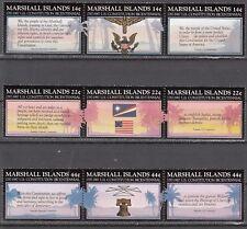 Marshall Islands Nr. 125-133** 200 Jahre Verfassung der USA
