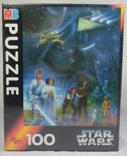 MB VTG 1994 STAR WARS 100 PIECES PUZZLE JIGSAW SEALED NEW RARE VHTF B