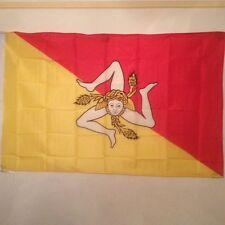 Drapeau Sicile / Sicilien / Flag Sicilia / 145 cm X 90 cm