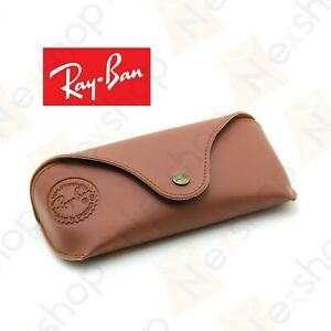 Original Rayban Sunglasses Special Edition Case Soft Leather Brown Color w/Cloth