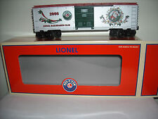 LIONEL #29941 LRRC 2006 CHRISTMAS BOXCAR