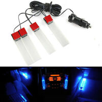 New Interior  Decor 12V 4LED Floor Decoration Auto Lamp Car Atmosphere Lights