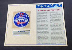 Willabee & Ward Lost Treasures Of Baseball Collection 1985 Chicago White Sox