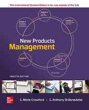 New Products Management by Crawford 12th International Edition