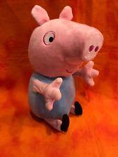 "Peppa Pig Plush Doll * Brother Pig * ANIMATED TALKS moves laughs kicks 12"""