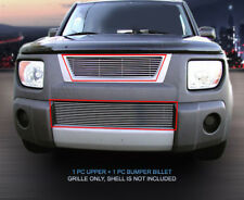 Billet Grille Grill Combo Fits 2003-2006 Honda Element