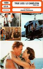 FICHE CINEMA : TRUE LIES, LE CAMELEON - Schwarzenegger,Lee Curtis,Cameron 1994