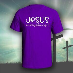 Jesus Everything graphic tee shirt   Christian Bible God